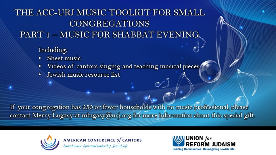 ACC-URJ Music Tooklit for Small Congregations